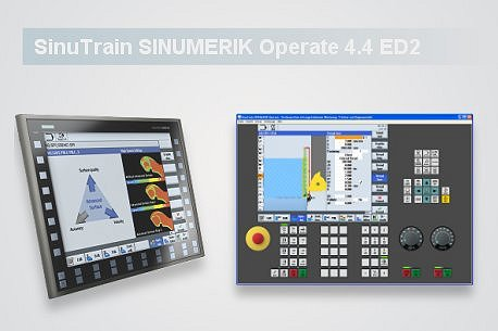 Neue Version SinuTrain SINUMERIK Operate 4.4 Ed.2!