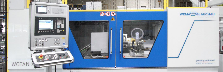Werkzeugmaschinenfabrik Glauchau - Banner