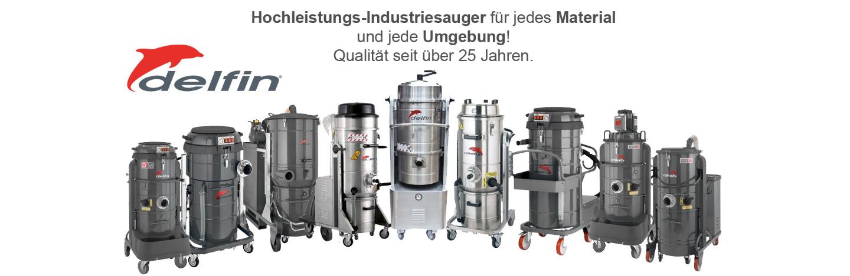 Delfin Deutschland Industriesauger GmbH - Banner